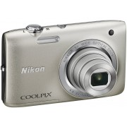 Nikon Coolpix S2800 Silver + Bag + 8GB SD