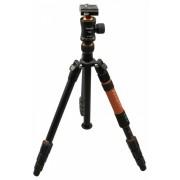 Rollei Fotopro C5i II stand cu cap bilă T3S + geantă căptușită (portocaliu)