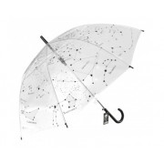 Paraguas de constelaciones adulto transparente
