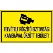 Figyelmeztető matrica 160x100mm