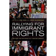 Rallying for Immigrant Rights by Kim Voss