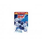 Ароматизатор за тоалетна чиния Bref Blue Aktiv Chlorine 2x50гр