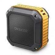 [Best Outdoor&Shower Bluetooth Speaker Ever] Omaker M4 Portable Bluetooth 4.0 Speaker with 12 Hour Playtime for Outdoors/Shower (Orange)
