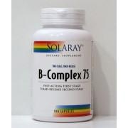 B-Complex 75 - 100 cápsulas Solaray (L)