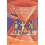 Day's Adventure In Math Wonderland, A by Jin Akiyama