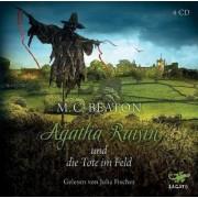Agatha Raisin Band 4: Agatha Raisin und die Tote im Feld (4 Audio-CDs)