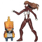 Marvel Legends Infinite Series Warriors of the Web Ultimate Spider-Woman 6 Action Figure