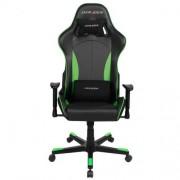Scaun gaming rotatix DX-Racer negru/verde