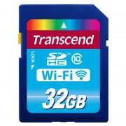 SD Card, 32GB, Transcend SDHC, WiFi, Class10 (TS32GWSDHC10)