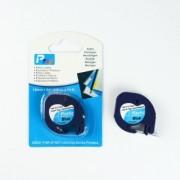 Dymo 59426, S0721600, 12mm x 4m, černý tisk / modrý podklad