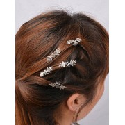 rosegal 5PCS Floral Hair Accessory Set