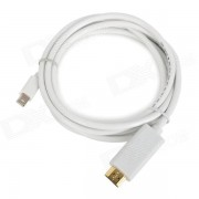 CY TB-008 Thunderbolt to HDMI Male Adapter High Definition Cable - White (1.8m)