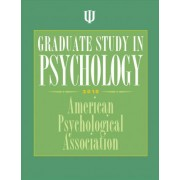 Graduate Study in Psychology by American Psychological Association