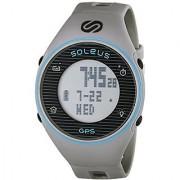 Soleus Unisex SG011-077 GPS One Digital Watch with Grey Band
