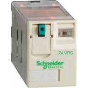 Releu de interfata - zelio rpm - 2 c/o - 24 v c.c. - 15 a - cu led - Relee de interfata - Zelio relaz - RPM22BD - Schneider Electric