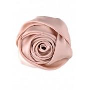 Бежова брошка Роза