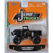JADA 1:64 JUST TRUCKS 2014 WAVE 4 BLACK 1955 CHEVY STEPSIDE