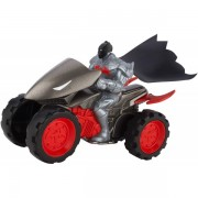 Batman Cu ATV Mattel Batman + 4 Wheeler DKN48-DKN49