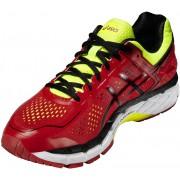asics Gel-Kayano 22 But do biegania Mężczyźni czerwony Buty do biegania antypoślizgowe