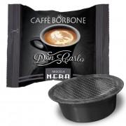 Borbone 100 Capsule di Caffè Don Carlo Nera compatibile A Modo Mio