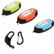 Lanterna Stop de bicicleta cu COB LED Rosu 1W cu Baterii CH5658