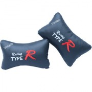 Type R Car Neck Cushion Pillow Set Of 2 For Tata Indigo CS
