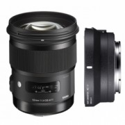 Kit Sigma 50mm F1.4 DG HSM Canon [A] + Sigma MC-11