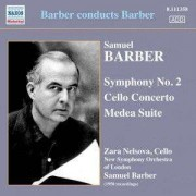 S Barber - Symphony No.2/ Cello Conce (0747313335824) (1 CD)