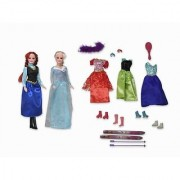 Snow Princess Dolls Playset Winter Wonderland Outfits Accessories Skis