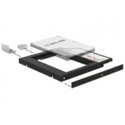 "DeLock Slim SATA 5.25"" Installation Frame for 1 x 2.5"" SATA HDD up to 9.5mm 62669"