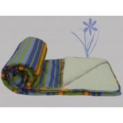 Prekrivač Krep-streč frotir plava, zelena, žuta, ljubičasta - Stefan