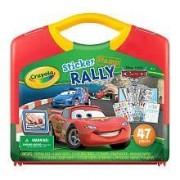 Crayola Sticker and Stamp Case - Disney Pixar Cars 2 by Crayola