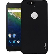 Google Nexus 6P Case, QUICKSAND [Extra Slim Fit] Hybrid rubberized Protective Hard Case for Google Nexus 6P Black