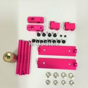 Generic Pink : HSP94123 94122 Rc Car Parts Accessories 1/10 Shell Frame Height Adjustable Alloy Stealth Body Stand / Mount