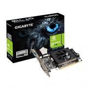 Gigabyte GV-N710D3-1G Carte graphique Nvidia GeForce GT710 1800 MHz 1 Go PCI Express 2.0