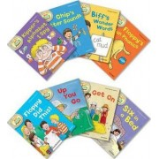 Oxford Reading Tree Read With Biff, Chip, and Kipper: Level 1: Pack of 8 by Roderick Hunt