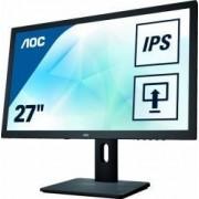 Monitor LED 27 AOC Q2775PQU WQHD IPS 4 ms Negru
