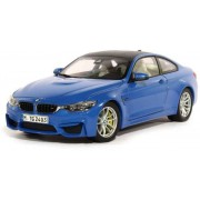 Miniatura BMW M4 Coupe F82 1:18 Marina Blue
