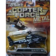 Tonka Copter Force Metal Diecast Bodies SWAT Helicopter