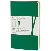 Moleskine Volant extrasmall plain notebook, green