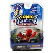 Sonic NKOK Sonic Sega All-Stars Racing Pull Back Car-Knuckles Echidna-06412