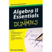 Algebra II Essentials For Dummies by Mary Jane Sterling