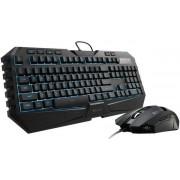 Kit Tastatura si Mouse CM Storm Octane Gaming Combo, taste iluminate (Negru)