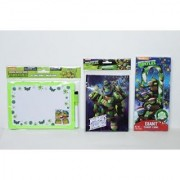 Teenage Mutant Ninja Turtles Stocking Stuffer Bundle - Includes: Dry Erase Board Ninjas in Training Journal & Giant So