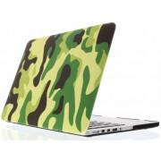 Groene legerprint design hardshell voor de MacBook Pro Retina 15.4 inch