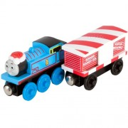 Thomas And Friends Wooden Railway - Thomas And the Musical CAndy Cane Car (japan import)