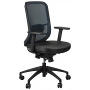 FOPOL - GN Swivel office chair GN-310/BLUE with seat sliding system