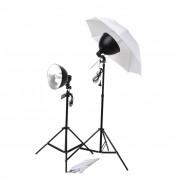 vidaXL Комплект студийно осветление