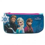 """Disney Frozen """", motivo: Elsa, Anna e Kristoff""""-Astuccio portapenne, colore: blu"""