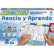 Educa Borras - 14251 - Conector, Gioco educativo Associo e imparo [lingua spagnola]